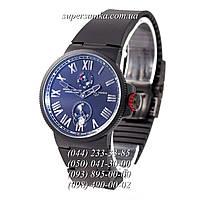 Классические мужские наручные часы Ulysse Nardin Maxi Marine AAA All Black