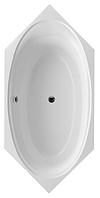 Ванна  VILLEROY & BOCH  CETUS Duo  Quaryl  210  x100 cm