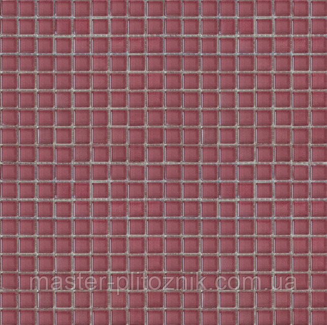 Мозайка моно розовая