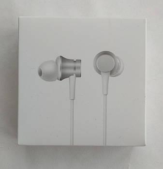 Наушники гарнитура Xiaomi Piston Fresh Bloom Silver