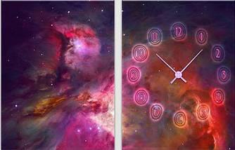 Модульная картина-часы (60х40 см)