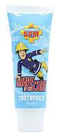 Fireman Sam Пожарный Сэм Зубная паста до 6 лет 75мл (Великобритания)