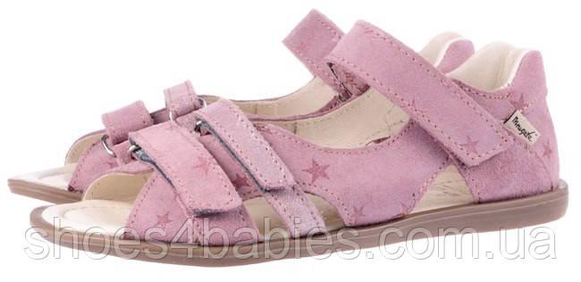 Детские босоножки р.26-30 MRUGALA  розовые 1295-55
