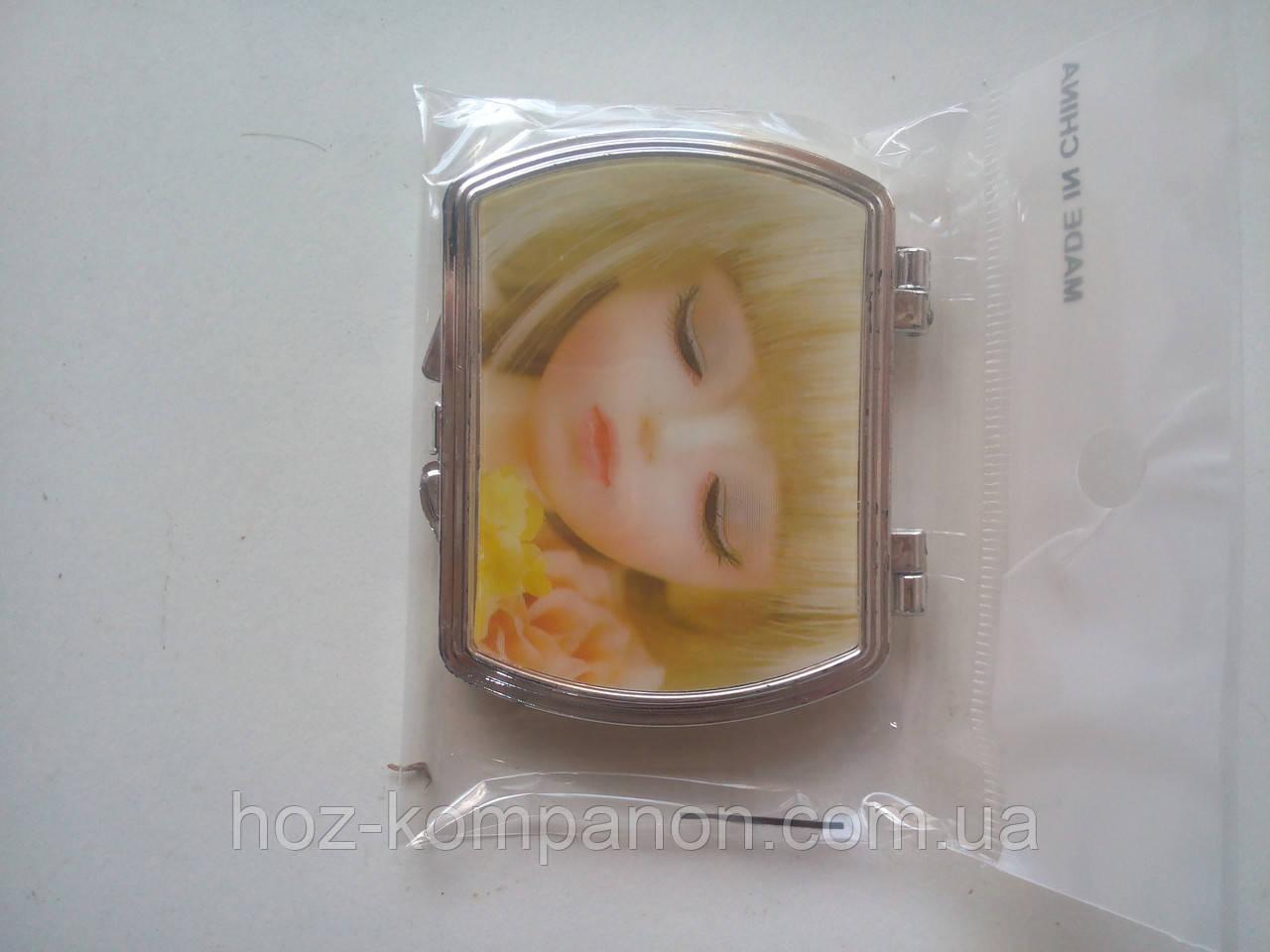 Зеркало 3D карманное