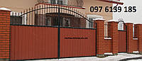 Ворота с калиткой 6450