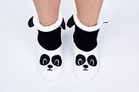 "Флисовые тапочки-сапожки ""Мишка панда"" (детские, размер 18-32)"