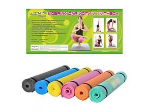 Коврик для йоги profi MS 0205