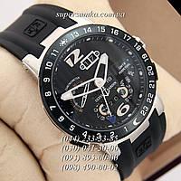 Мужские наручные часы Ulysse Nardin Perpetual Calendars El Toro GMT Perpetual Silver-Black-Silver
