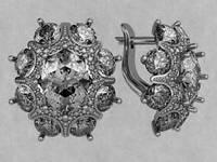 Серьги серебряные s0080