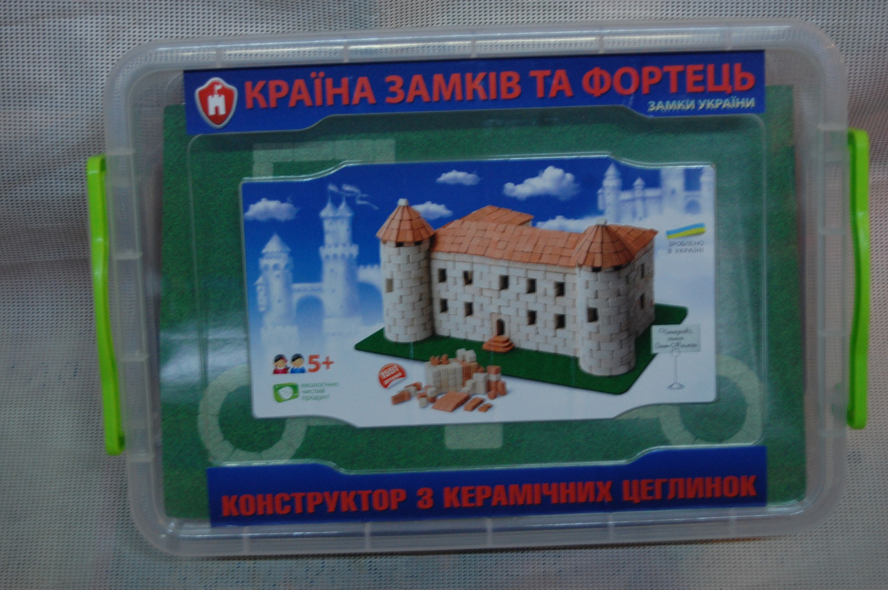 """Конструктор из керамических кирпичиков """"Чинадиево"""""""
