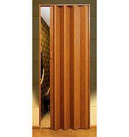 Двери-гармошка глухие дуб