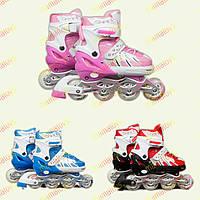 Ролики детские раздвижные  9001 Best Rollers.S (31-34)
