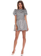 3415 Платье серый