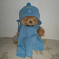 Детская шапка и шарф Динамо