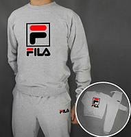 Спортивный костюм FILA(серый), Реплика
