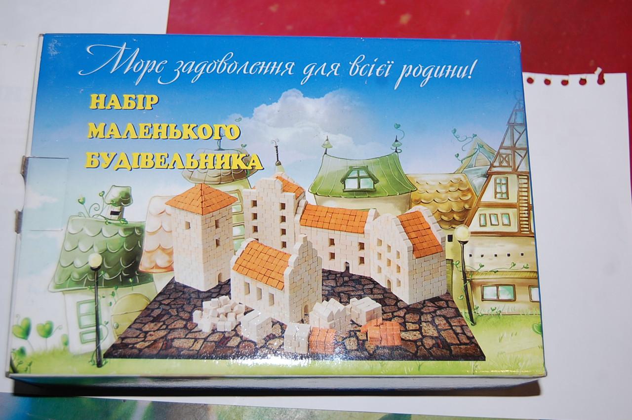 """Конструктор из керамических кирпичиков """"Башня въездная"""""""