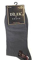 Носки мужские без шва хлопок Dilek 41-44 черные
