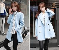 Женское весеннее пальто. Модель 2110, фото 4