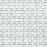 Мозаика шахматка белый
