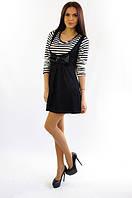 5060 Платье черное