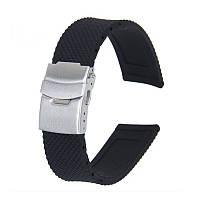Ремешок для часов из каучука с браслетным замком Pixel (20 мм)