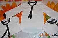 Блузка школьная,р.104,110,116.белая, фото 1