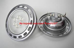 Лампа светодиодная OSRAM PPAR111 5024 7,2W/830 12V G53 не диммируемая 24 град. (Китай)