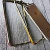 Металлический бампер на iPhone 8 цветными камнями, фото 4