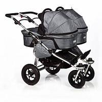 Люлька для коляски TFK Twinner Twist Duo carbo-grey