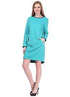 5817 Платье бирюза