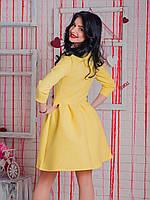 5822 Платье желтый