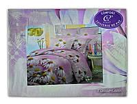 """Комплект постельного белья """"Jack komfort 3D"""" 150*220 см. Цветы"""