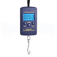 Кантер электронный цифровой 607, максимальный вес 40 кг, погрешность 10 г, автоотключение, термометр