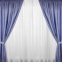 Комплект штор на окна или двери шанзализе