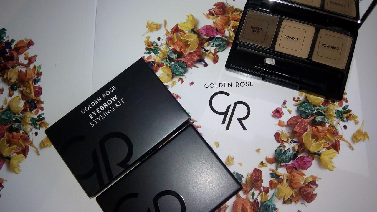 Набор  для бровей «Golden Rose»