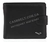 Мужской стильный классический кошелек c прочной кожи WATER LILY art. 538-A черный, фото 1