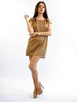 616 Платье беж