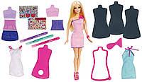 Кукла Барби  и модная студия дизайна Barbie Fashion Design Plates