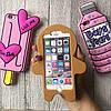 Чехол силиконовый на iPhone 7 / 7+ мороженое, бутылка, человечек , фото 5