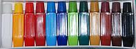 Акриловые красок набор 12 цветов 6мл, краски акриловые YRE YDH, акриловая роспись