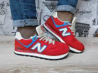 Кроссовки New Balance красные