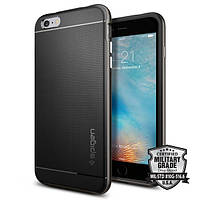 Чехол Spigen для iPhone 6S Plus/6 Plus Neo Hybrid, Metal Slate
