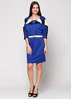 8175 Платье синий