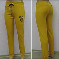 Спортивные брючки женские, cotton, Турция. Узкие спортивные штаны женские из хлопкового трикотажа. , фото 1