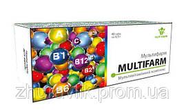 """Мультивитаминный комплекс """"Мультифарм""""№40"""