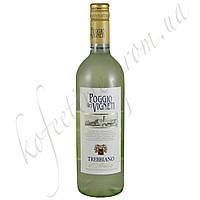 Вино белое сухое TREBBIANO Il Poggio dei Vigneti 1.5L
