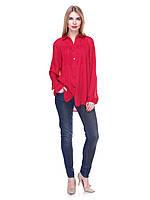 8758 Рубашка красный
