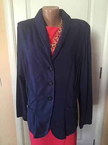 Пиджак женский  больших размеров серый синий    весна-летоS.Oliver, фото 2