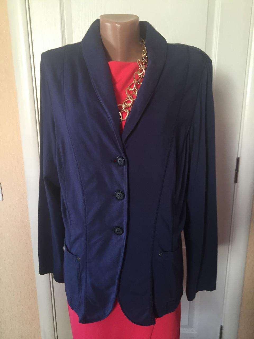 """Пиджак женский  больших размеров серый синий    весна-летоS.Oliver - Интернет -магазин """"Iwish"""" в Чернигове"""