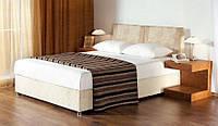 Кровать двуспальная Ривьера с матрасом подъёмный механизм